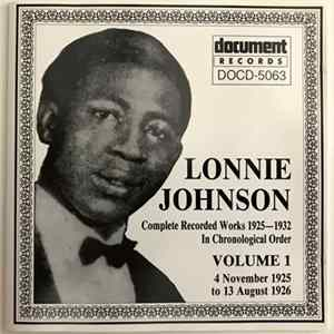 Lonnie Johnson - Complete Recorded Works 1925-1932 In Chronological Order Volume 1 (4 November 1925 To 13 August 1926) download